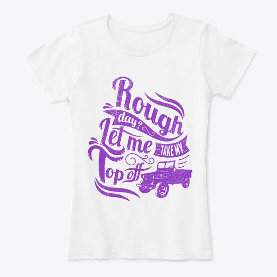Rough Day? - Women's T-Shirt