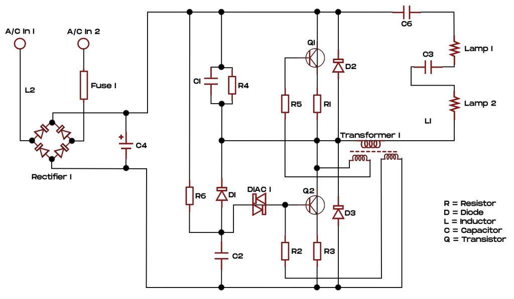 CFL Bulb Wiring Diagram
